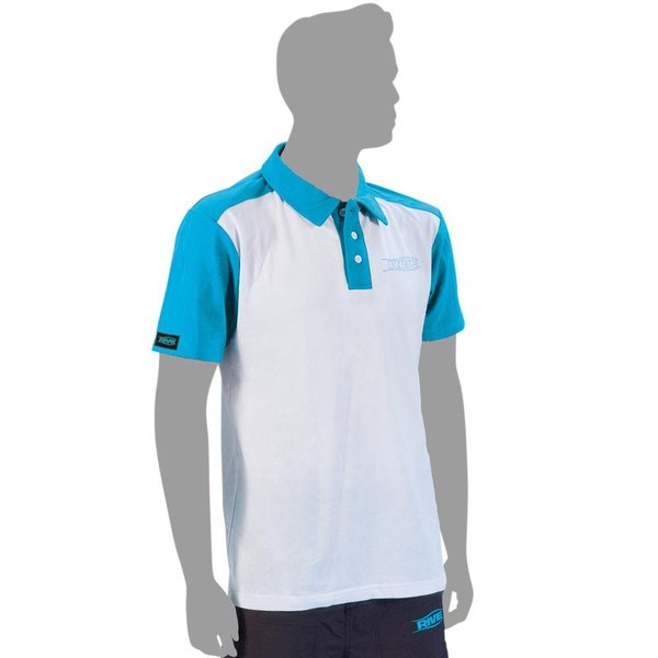 Poloshirt Anti-UV - Aqua